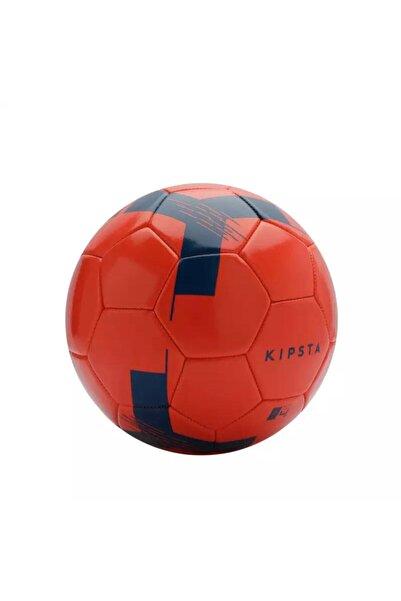 4 Numara Kırmızı Lacivert Desenli Futbol Topu