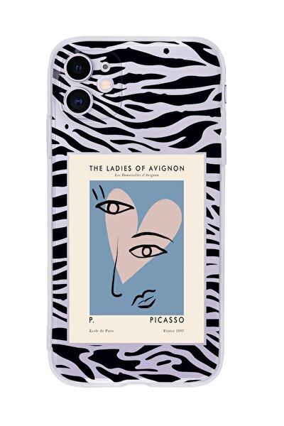 Iphone 11 Uyumlu Picasso The Ladies Of Avignon Premium Şeffaf Silikon Kılıf