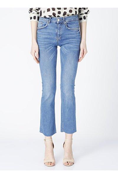 Deryus Indigo Kadın Denim Pantolon