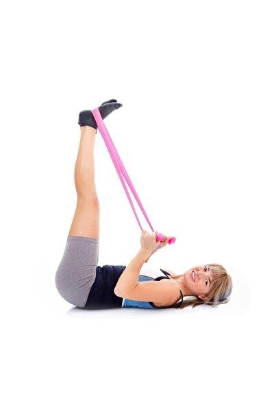 Yüksek Sert Direnç Pilates Yoga Bandı Egzersiz Direnç Güç Lastiği Plates Bant Egzersiz Lastiği Bandı