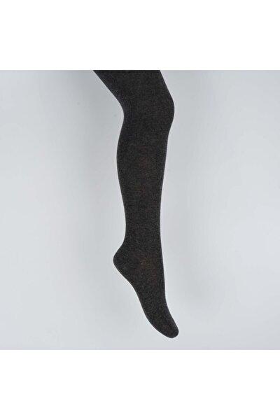 Alona Kız Çocuk Düz Külotlu Çorap