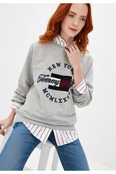 Tommy Hılfıger Sweatshirt Lola Ww0ww25906 Regular Fit