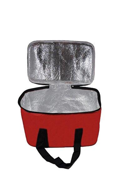 27 Litre Sıcak Soğuk Tutucu Kamp Piknik Termos Buzluk Çanta Kırmızı