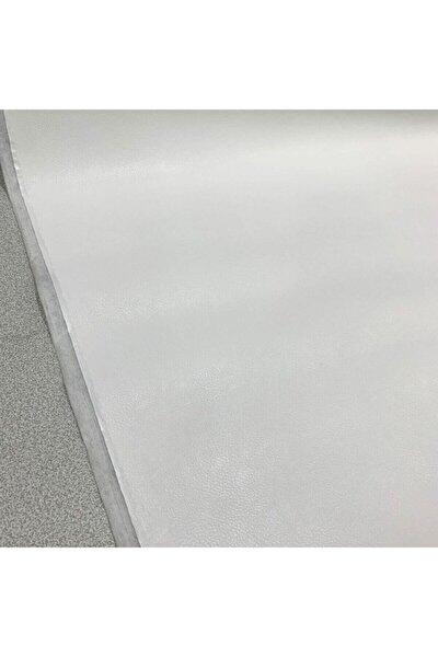 Beyaz Suni Deri Döşemelik Kumaş