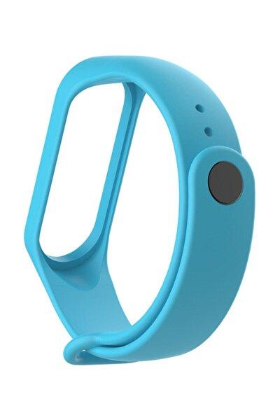 Xiaomi Mi Band 2 Uyumlu Kordon Kayış Akıllı Saat Kordonu - Mavi