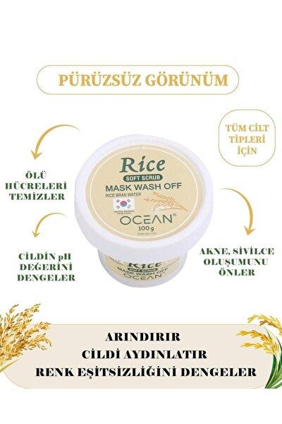 Rice Mask Wash Off Soft Scrub