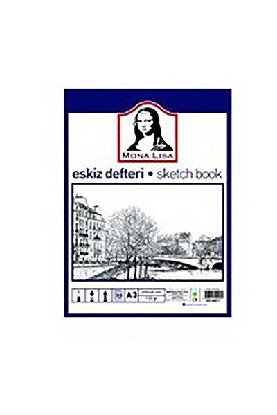 Mona Lisa Eskiz Defteri (Sketch Book) A3 120 gr. 50 Yp.