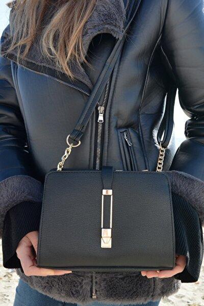 Kadın Siyah Şık Ve Kullanışlı Çanta