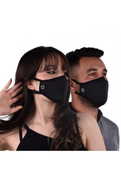 Dark Pro Kusursuz Kalıp Ttse Belgeli Antibakteriyel Sertifikalı Sınırsız Yıkanabilir Kumaş Maske