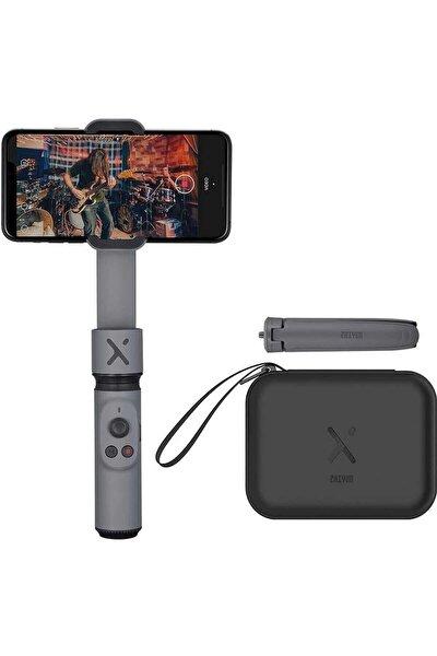 Smooth X Gri Essential Combo Akıllı Cep Telefon Görüntü Sabitleyici Gimball