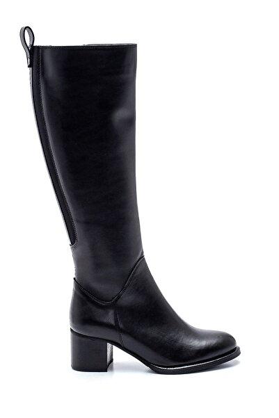 Kadın Fermuarlı Topuklu Çizme