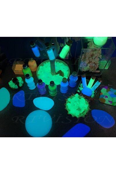 100 gr Fosfor Tozu Yeşil(SARI-YEŞİL) Parlama Işığı Yeşil Renktedir