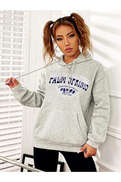 Kadın Karmelanj Palms Springs Kadın Sweatshirt
