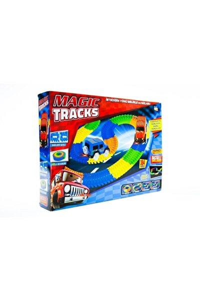 Magic Tracks Hareketli Raylar 384 Parça + 2 Araba
