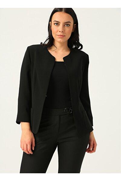 6007 Siyah Kadın Ceket