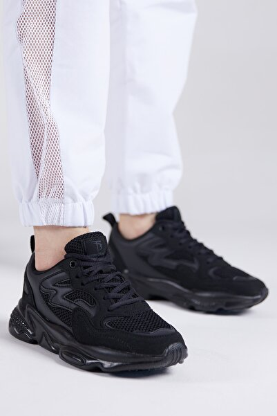 Unısex Siyah Spor Ayakkabı Tb251