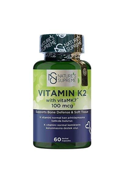 Vitamin K2 100 Mcg 60 Kapsül