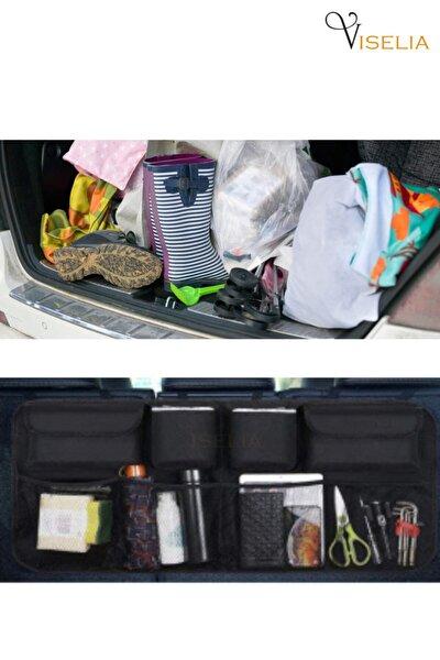 Bagaj Düzenleyici Araç Içi Bagaj Eşya Düzenleyici Oto Bagaj Organizer 8 Cepli Fileli