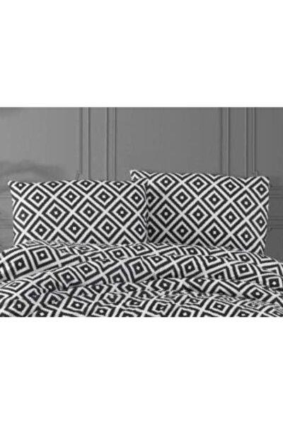 Life Blackwhite Serisi Diagonal Siyah Beyaz 50x70 Fermuarlı Yastık Kılıfı 1 Adet Ecdiagonal2