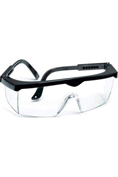 Tam Korumalı Şeffaf Ayarlı Çapak Gözlüğü (laboratuvar Gözlüğü)