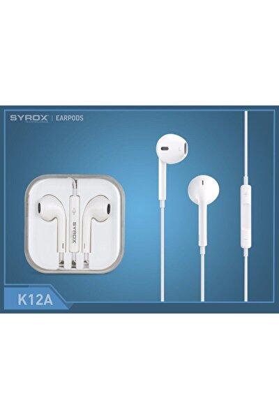 K12a 3.5 Mm Jak Girişli Mikrofonlu Kulaklık