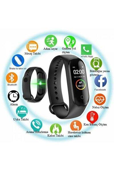 M4 Akıllı Bileklik Renkli Ekran Adımsayar Ritim Ölçer Akıllı Saat Bileklik