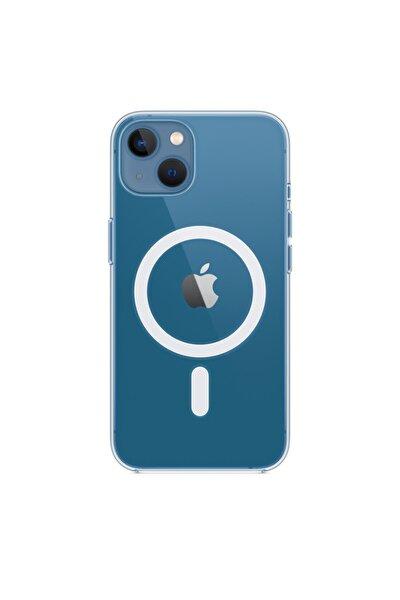 Iphone 13 Için Magsafe Özellikli Şeffaf Kılıf