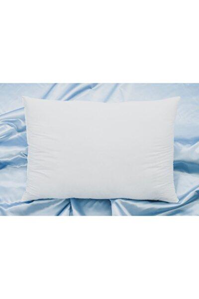 Beyaz Elyaf Sert Yüksek Yastık 50x70