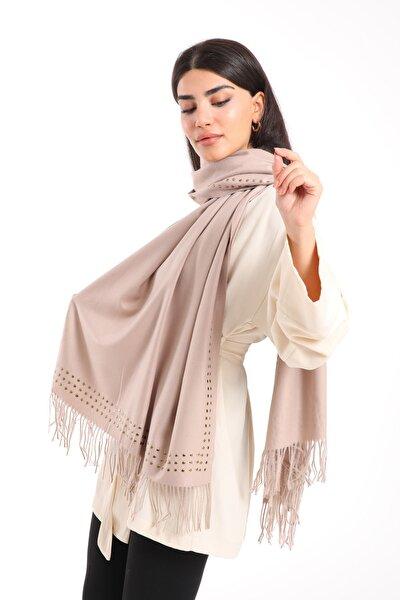 Kadın Kışlık Omuz Şal Cashmere
