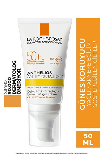 Anthelios Anti Imperfections Jel Krem Spf 50+ 50 ml