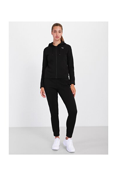589132-01 Classic Hooded Sweat Suit Fl Kadın Eşofman Takım