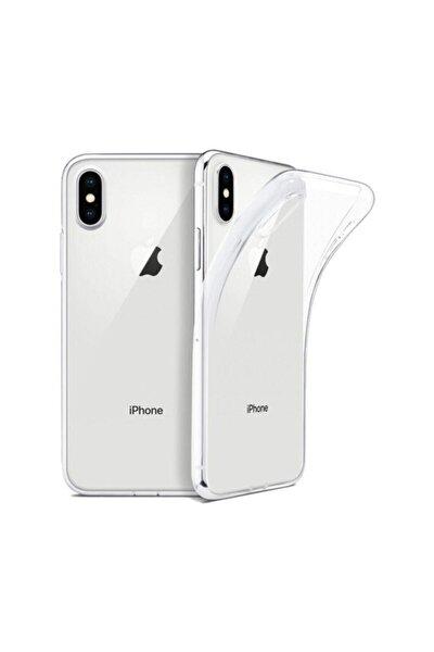 Apple Iphone X/xs Kılıf Silikon Arka Kapak Şeffaf