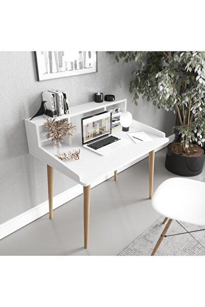 Raflı Çalışma Masası