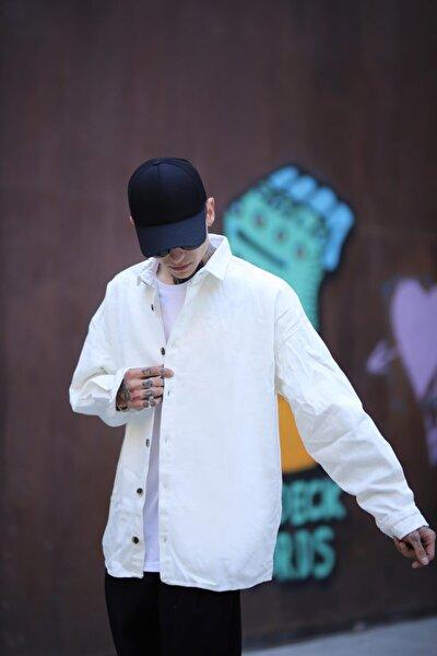 Gabardin Beyaz Gömlek