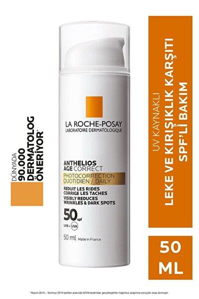 Anthelios Age Correct Light Cream Spf50 50 ml