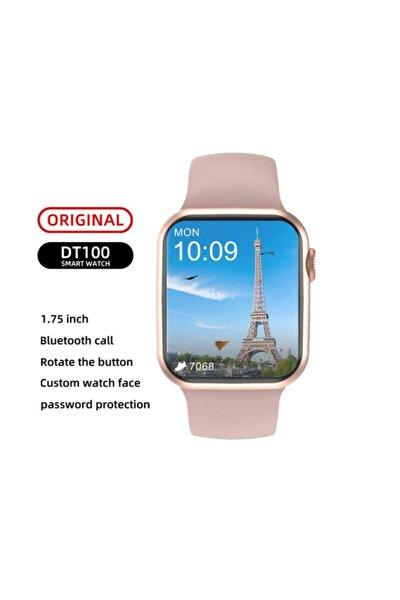 Dt100 Plus Akıllı Saat Smartwatch 2021 Yeni Akıllı Ip67 Su Geçirmez Bluetooth Çağrı Android Ios.