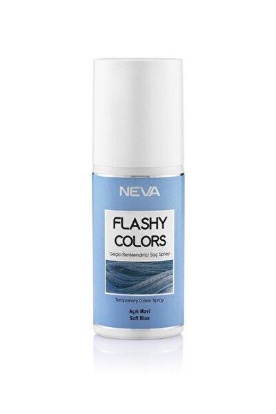 Açık Mavi Geçici Renklendirici Saç Spreyi 75ml