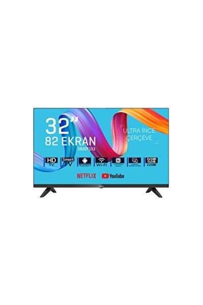 "SB32F151 32"" 81 Ekran Uydu Alıcılı HD Ready Smart LED TV"