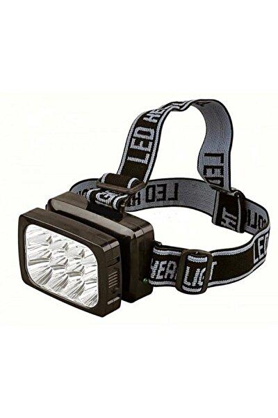 Şarjlı 12 Led Kafa Lambası Işıldak Tepe Lambası Kafa Feneri