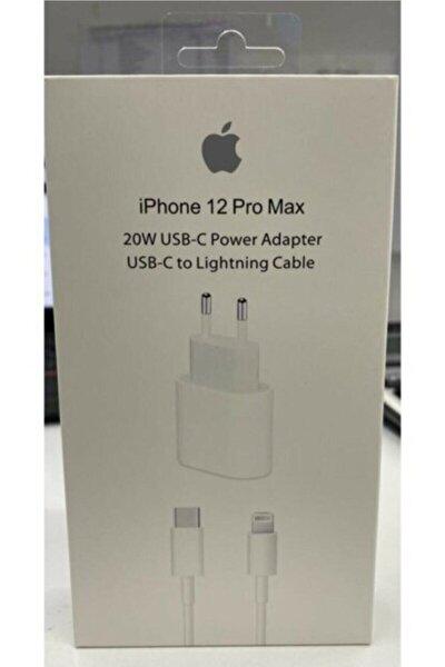 Iphone 11 12 Pro Uyumlu Yeni Nesil Hızlı 20 W Usb-c Şarj Adaptörü + Kablo (1m)