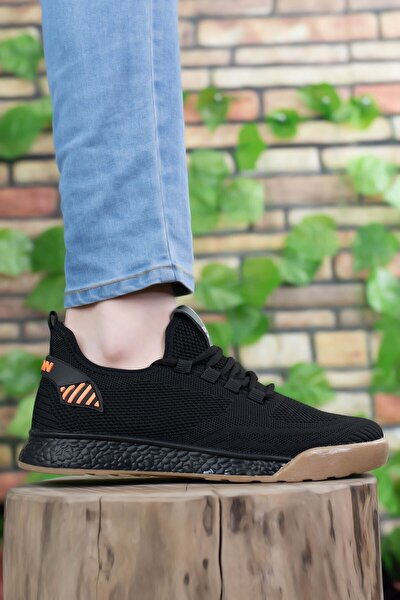 Unisex Siyah Sneaker 0012430