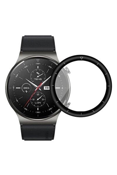 Huawei Watch Gt 2 Pro 3d Full Kaplama 46 Mm Ekran Koruyucu Polymer Nano Esnek Cam