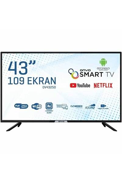 Ov43250 43'' 109 Ekran Uydu Alıcılı Full Hd Smart Led Tv
