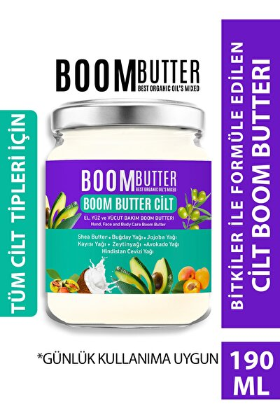 Boom Butter Cilt Bakım Yağı 190 ml 8697863681723