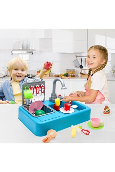 Modern Mutfak Su Ile Çalışan Lavabo Oyuncağı
