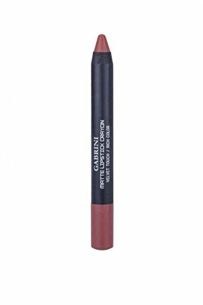 Mat Ruj Matte Lipstick Crayon 08