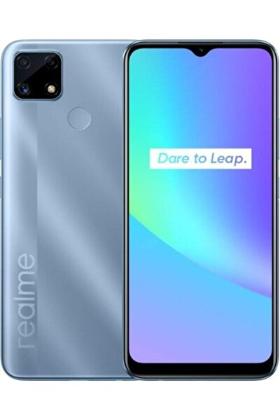 C25 4GB + 64GB Water Blue Cep Telefonu (Realme Türkiye Garantili)
