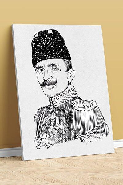 Ismail Enver Paşa Tasarımlı Dijital Baskı Kanvas Tablo