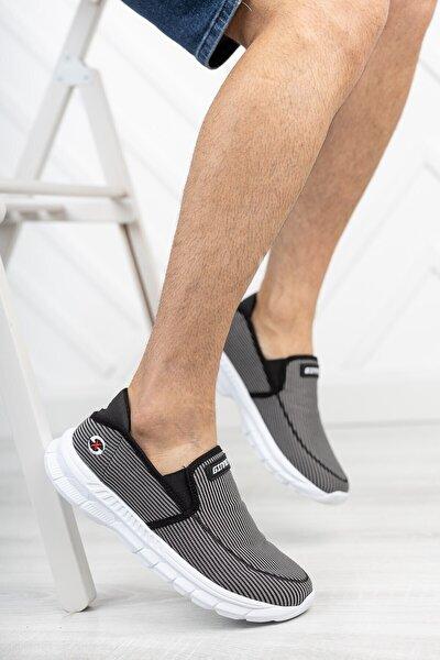 Buz Siyah Unisex Sneaker 001204
