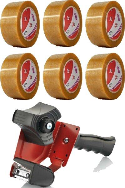 Leopar Koli Bandı 48 X 100 Ve Bandcutter Koli Bandı Kesme Makinesi Seti